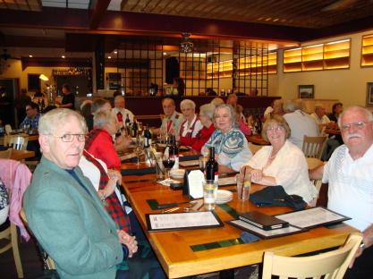 WVSS members celebrating National Tartan Day