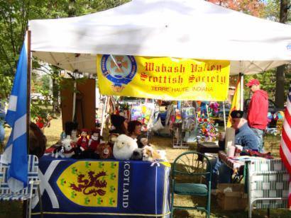 WVSS tent at Brazil Popcorn Festival